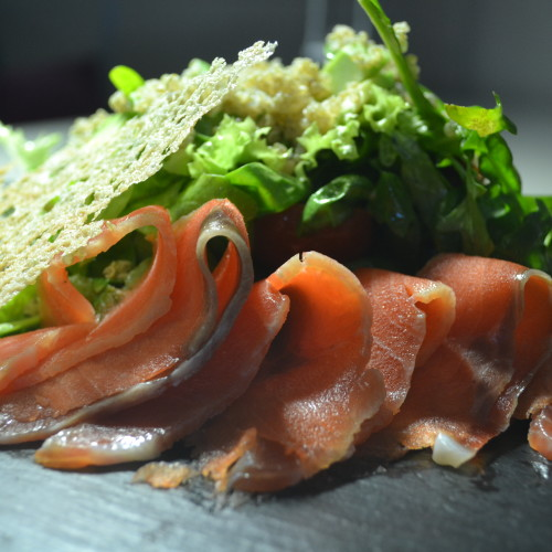 салат с форели
